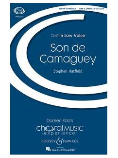 Stephen Hatfield: Son De Camaguey (TTBB) Books | TTBB, Percussion