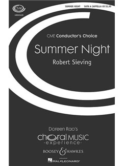 Robert Sieving: Summer Night Books | Choral, SATB