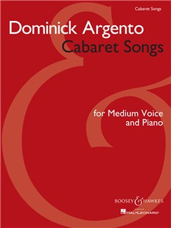 Dominick Argento: Cabaret Songs Books | Medium Voice, Piano Accompaniment