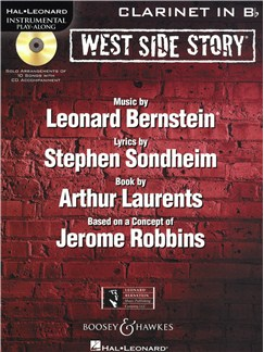 Instrumental Play-Along: West Side Story - Clarinet Books and CDs | Clarinet