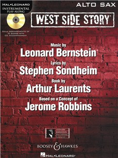 Instrumental Play-Along: West Side Story - Alto Saxophone Books and CDs | Alto Saxophone