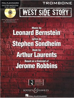 Instrumental Play-Along: West Side Story - Trombone Books and CDs | Trombone