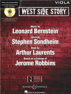 Instrumental Play-Along: West Side Story - Viola Books and CDs | Viola