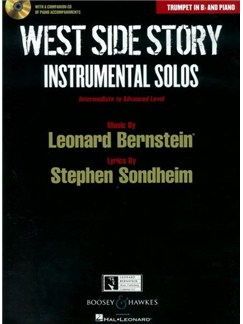 West Side Story: Instrumental Solos – Trumpet (Book/CD) Books and CDs | Trumpet, Piano Accompaniment