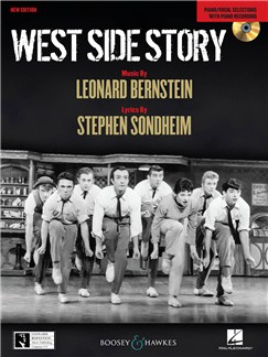 Leonard Bernstein/Stephen Sondheim: West Side Story - Piano/Vocal Selections (CD Edition) Books and CDs | Voice, Piano Accompaniment
