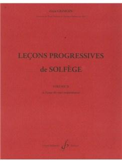 Alain Grimoin: 30 Leçons Progressives De Lecture De Notes Et De Solfège - Vol. 3A Books | All Instruments