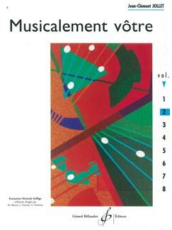 Jean-Clément Jollet: Musicalement Votre - Volume 2 Books | All Instruments