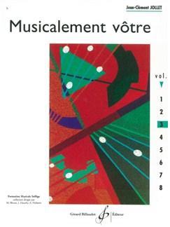 Jean-Clément Jollet: Musicalement Votre - Volume 3 Books | All Instruments