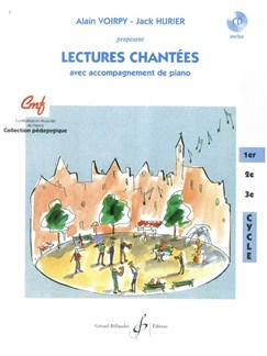 Alain Voirpy: Lectures Chantees - 1Er Cycle (Book/CD) Books and CDs | Voice