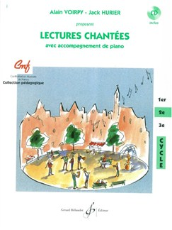 Alain Voirpy: Lectures Chantees - 2E Cycle (Book/CD) Books and CDs | Voice