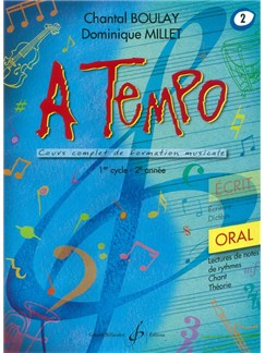 Chantal Boulay: A Tempo - Partie Orale - Volume 2 Books | Voice