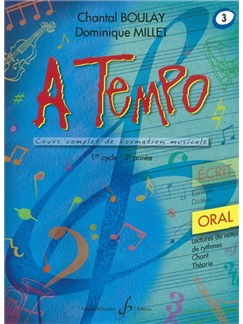 Chantal Boulay: A Tempo - Partie Orale - Volume 3 Books | Voice