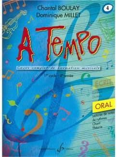 Chantal Boulay: A Tempo - Partie Orale - Volume 4 Books | Voice