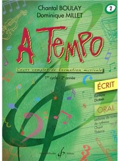 Chantal Boulay: A Tempo - Partie Ecrite - Volume 2 Books | Voice