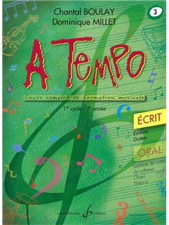 Chantal Boulay: A Tempo - Partie Ecrite - Volume 3 Books | Voice