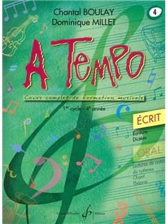 Chantal Boulay: A Tempo - Partie Ecrite - Volume 4 Books | Voice