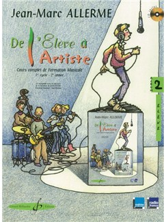 Jean-Marc Allerme: De L'Eleve A L'Artiste Volume 2 - Livre De L'Eleve Books and CDs | All Instruments