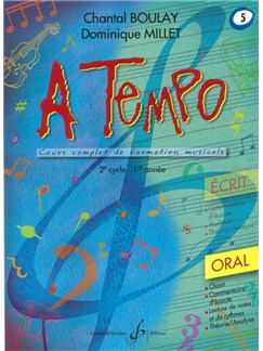 Chantal Boulay: A Tempo - Partie Orale - Volume 5 Books | Voice