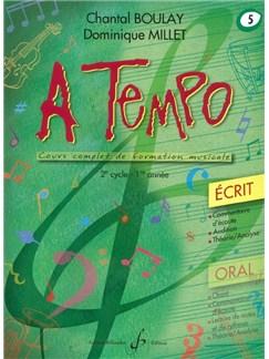 Chantal Boulay: A Tempo - Partie Ecrite - Volume 5 Books | Voice