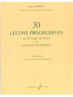 Alain Grimoin: 32 Leçons Progressives De Solfège - Volume 2 Books | All Instruments