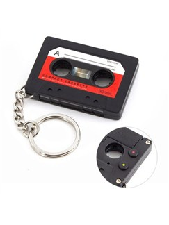 Cassette Design Recorder Keyring   