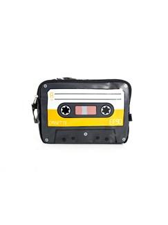 Toiletries Case - Cassette Design (Yellow)   