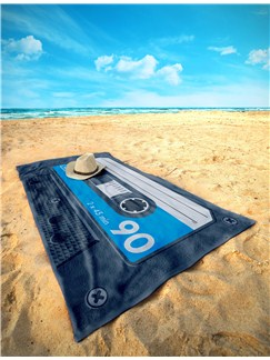 Side A: Beach Towel (Blue)  |