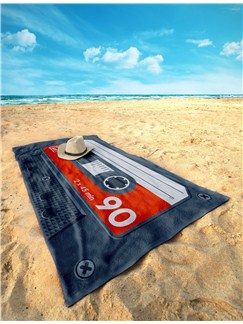 Side A: Beach Towel (Red)  |