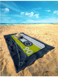 Side A: Beach Towel (Green)  |