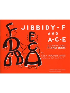 Jibbidy-F And A-C-E Books | Piano