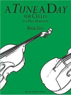 A Tune A Day For Cello Book Two Books | Cello