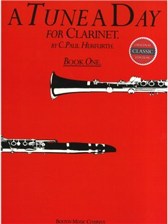 A Tune A Day For Clarinet Book One Books | Clarinet