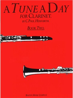 A Tune A Day For Clarinet Book Two Books | Clarinet