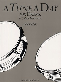A Tune A Day For Drums Book One Books | Drums