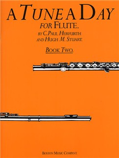 A Tune A Day For Flute Book Two Books | Flute