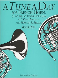 A Tune A Day For French Horn Book One Books | Horn