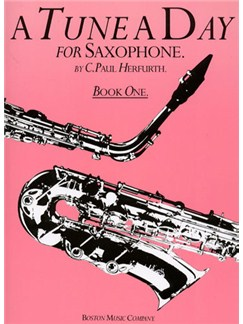 A Tune A Day For Saxophone Book One Books | Alto Saxophone, Tenor Saxophone, Baritone Saxophone