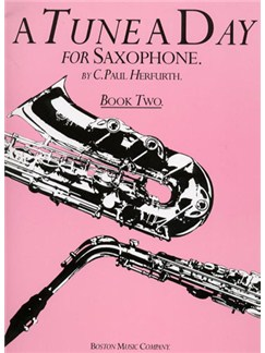 A Tune A Day For Saxophone Book Two Books | Alto Saxophone, Tenor Saxophone, Baritone Saxophone