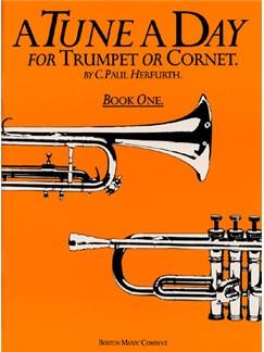 A Tune A Day For Trumpet Or Cornet Book One Books | Trumpet