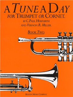 A Tune A Day For Trumpet Or Cornet Book Two Books | Trumpet
