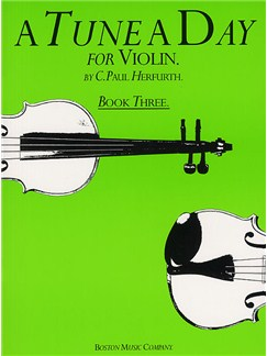 A Tune A Day For Violin Book Three Books | Violin