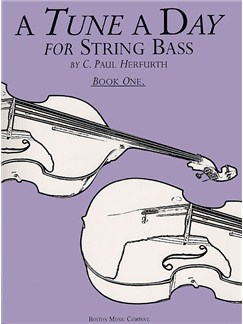 A Tune A Day For String Bass Book One Books | Double Bass
