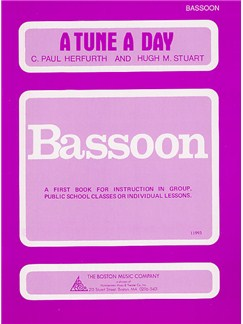 A Tune A Day For Bassoon Book One Books | Bassoon