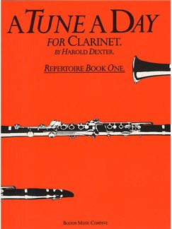 A Tune A Day For Clarinet Repertoire Book 1 Books | Clarinet