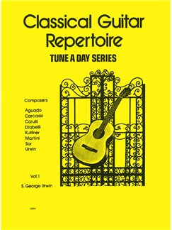A Tune A Day For Classical Guitar Repertoire Vol. 1 Books | Guitar, Classical Guitar