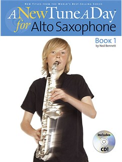 A New Tune A Day: Alto Saxophone - Book 1 (CD Edition) Books and CDs | Alto Saxophone