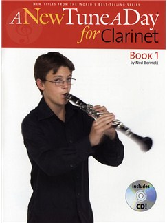 A New Tune A Day: Clarinet - Book 1 (CD Edition) Books and CDs | Clarinet