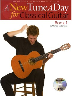 A New Tune A Day: Classical Guitar - Book 1 (CD Edition) Books and CDs | Guitar, Classical Guitar