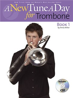 A New Tune A Day: Trombone (Bass Clef) - Book 1 (CD Edition) Books and CDs | Trombone
