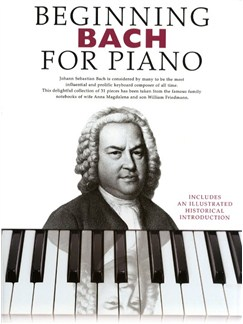 Beginning Bach For Piano 1 Books | Piano